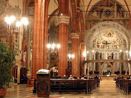 Messe pasquali a Verona
